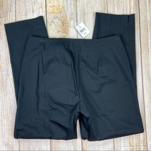 New J. JILL Black Ankle Pants Cotton/Spandex